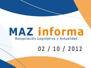 MAZ informa 02/10/2012