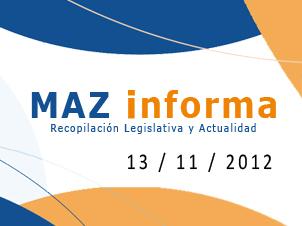 MAZ informa 13/11/2012