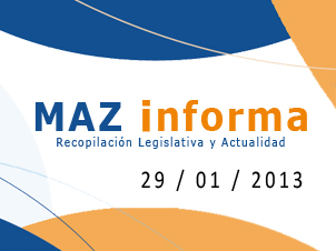 MAZ informa 29/01/2013