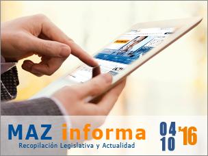 MAZ informa 04/10/2016