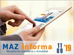 MAZ informa 11/09/2019