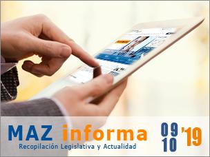 MAZ informa 09/10/2019